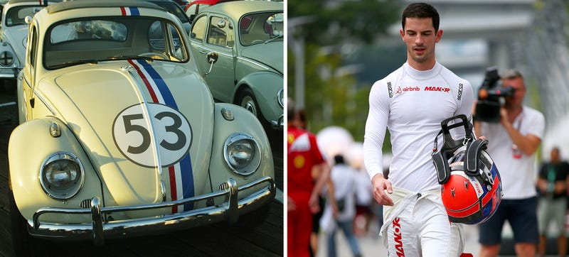 Ilration For Article Led American F1 Driver Alexander Rossi Will Race Herbie