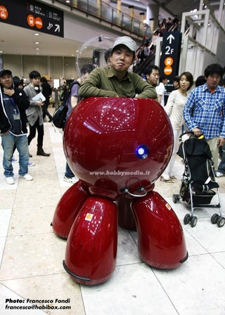Illustration for article titled My Tachikoma Transportation Doesn't Make Me Lazy, Just Technologically Advanced