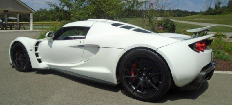 Illustration for article titled Some Glorious Lunatic Is Selling A Hennessey Venom GT On Autotrader