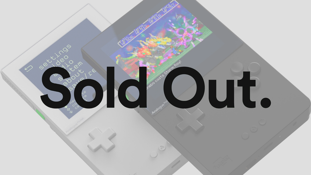 Analogue Pocket Preorders Sell Out Immediately, Leaving Many Disappointed