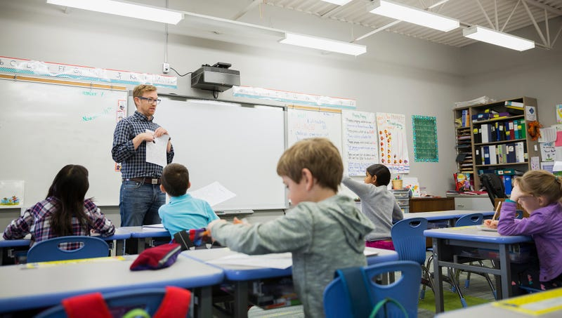 Illustration for article titled Substitute Teacher Can Tell He's Filling In For Real Asshole