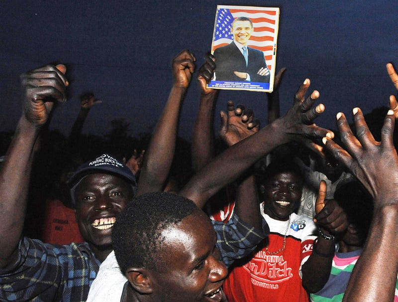 Illustration for article titled Obama A Little Creeped Out By How Much Everyone In Kenya Celebrating Reelection Victory