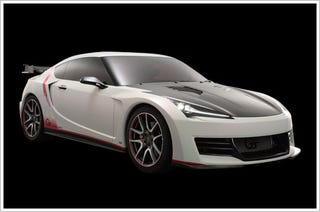 Illustration for article titled Toyota FT-86 G-Sports Turbo Concept: Live Photos