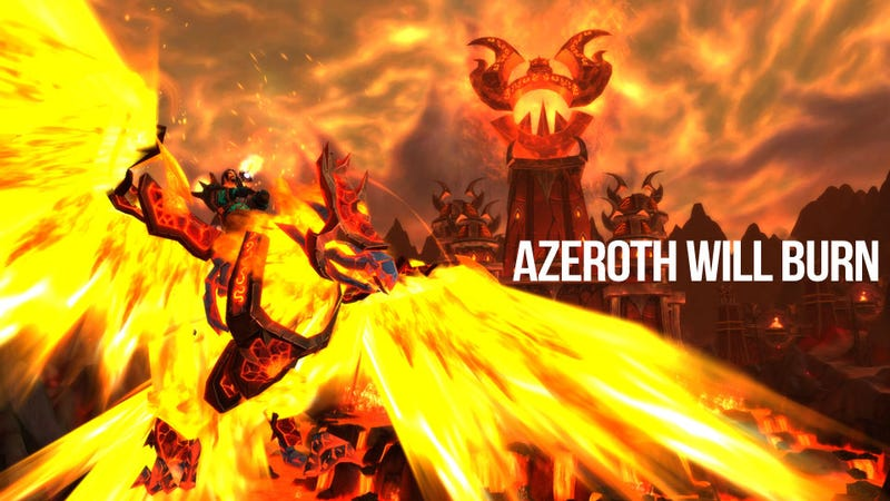 Illustration for article titled Blizzard Turns up the Heat in World of Warcraft Patch 4.2