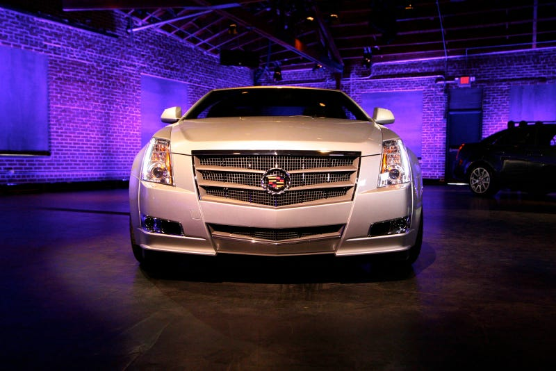 Illustration for article titled Cadillac CTS Coupe: Very, Very Pointy In Person