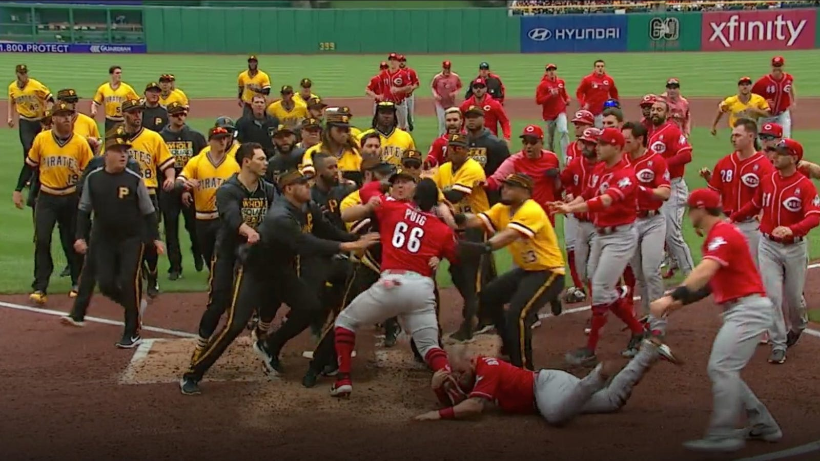 Image result for puig fight