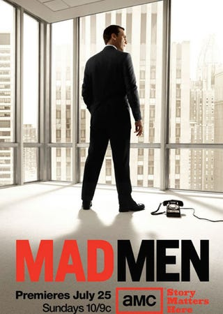 Illustration for article titled Mad Men Season 4 Poster Revealed