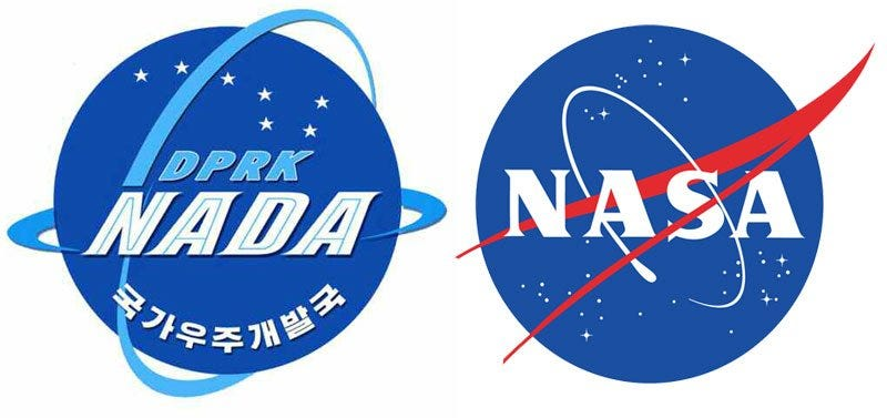 Illustration for article titled North Korea's New Space Agency Logo Looks Awfully Familiar