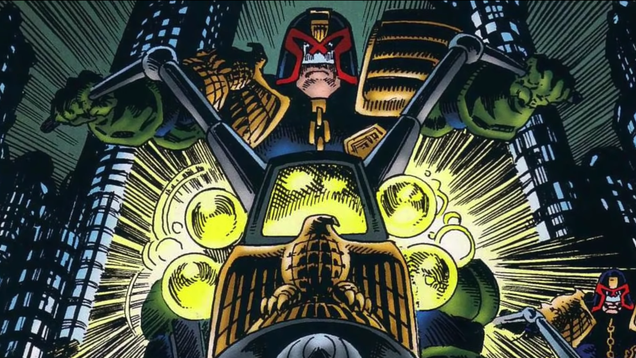 Here's an update on that long-gestating Judge Dredd TV series