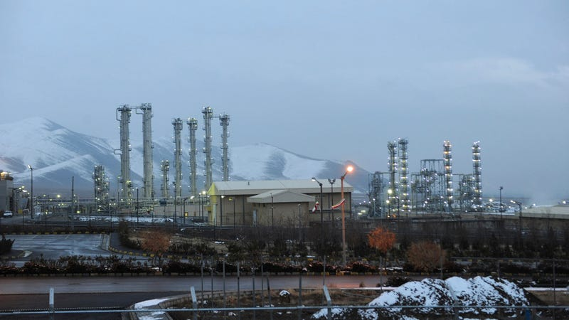 Iran's Arak heavy water nuclear facility, pictured here in 2011.