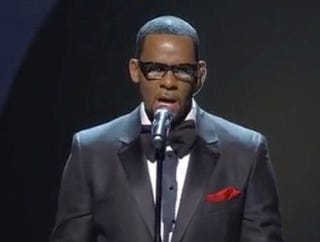 Controversial R&B crooner R. Kelly