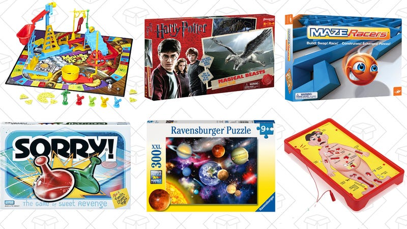 Family Friendly Game and Puzzle Sale