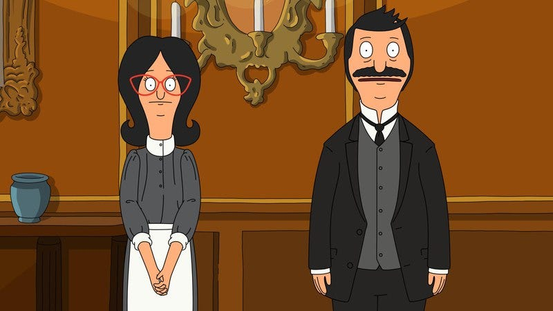Illustration for article titled Bob follows his passions on a Bob's Burgers double feature