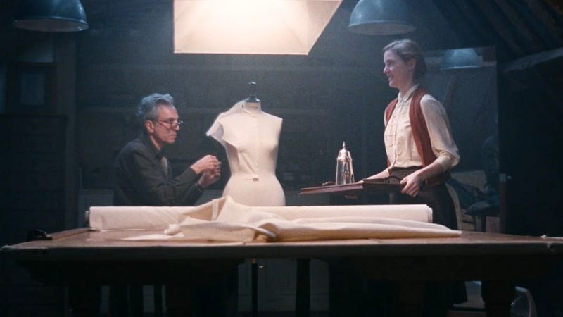 """""""The tea is leaving, but the interruption is staying right here with me."""" (Phantom Thread)"""
