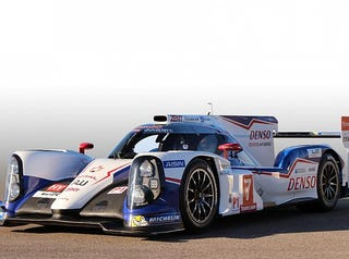 Illustration for article titled The new 1000hp Toyota TSO40 LMP1