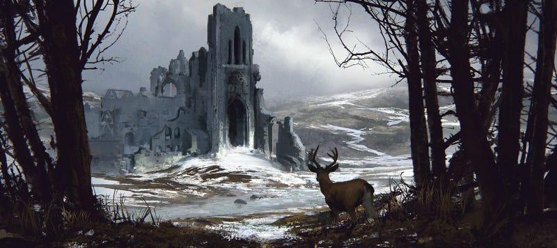 Illustration for article titled FOR LEASE: Old Castle (No Deer, Sorry)