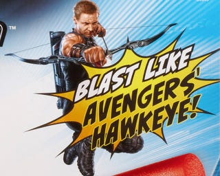 Illustration for article titled A Fresh Look at Hawkeye's Bow from The Avengers... in Nerf Form