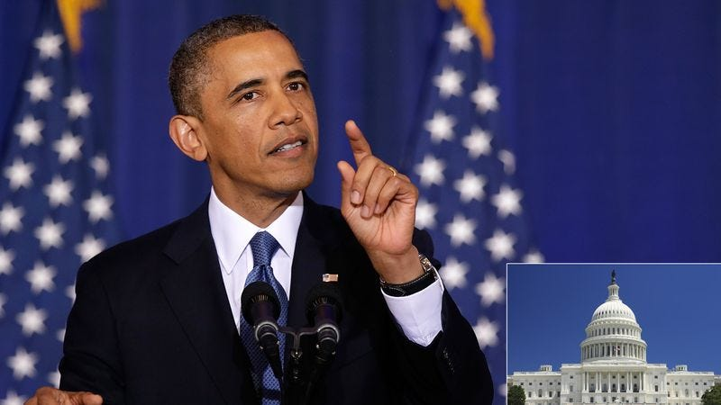President Obama says peacekeeping efforts have failed and a military option in Congress may be the only option.
