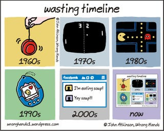 Illustration for article titled 10/13/2014: Wasting Time, Through The Decades