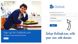 Illustration for article titled Use Outlook.com For Email With Your Personal Domain
