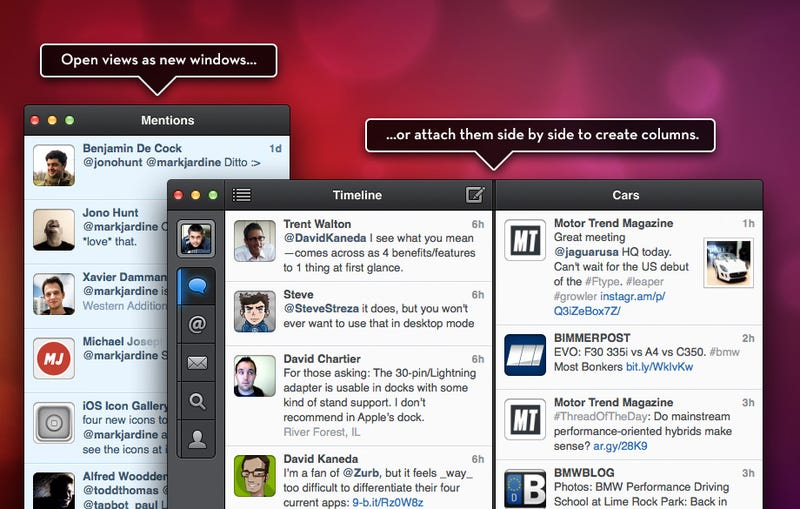 Illustration for article titled TweetBot for Mac: How Can a Twitter Client Possibly Be Worth $20?