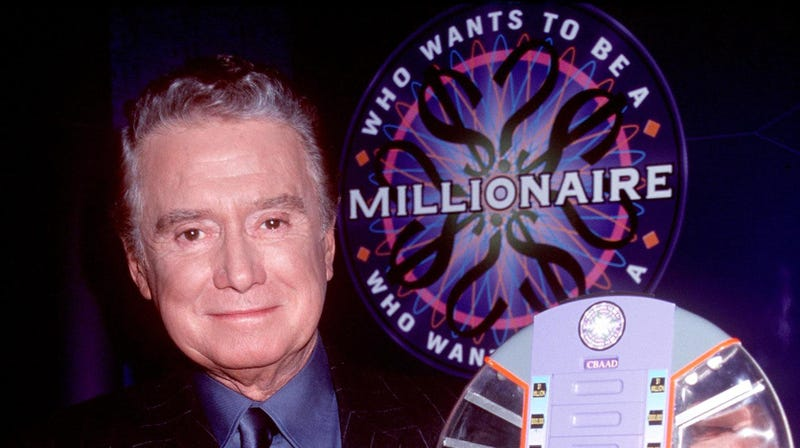 Illustration for article titled Who Wants To Be A Millionaire canceled, a scant decade after you assumed it went off the air