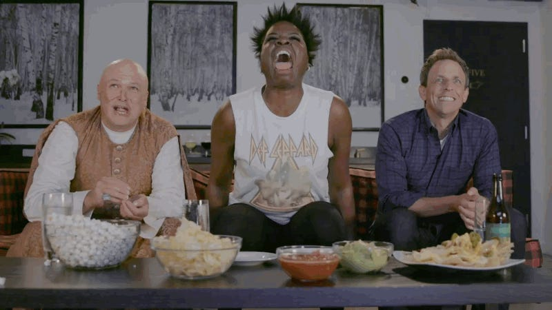 Watch Leslie Jones' Wild 'Game of Thrones' Reactions on 'Seth Meyers&#39
