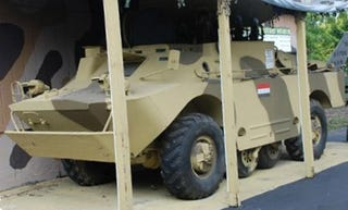 Illustration for article titled Interested In Putting Down Hippie Protests? Try A BRDM-2 For $38,000