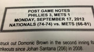 Illustration for article titled Even The Mets' PR Staff Is Giving Up