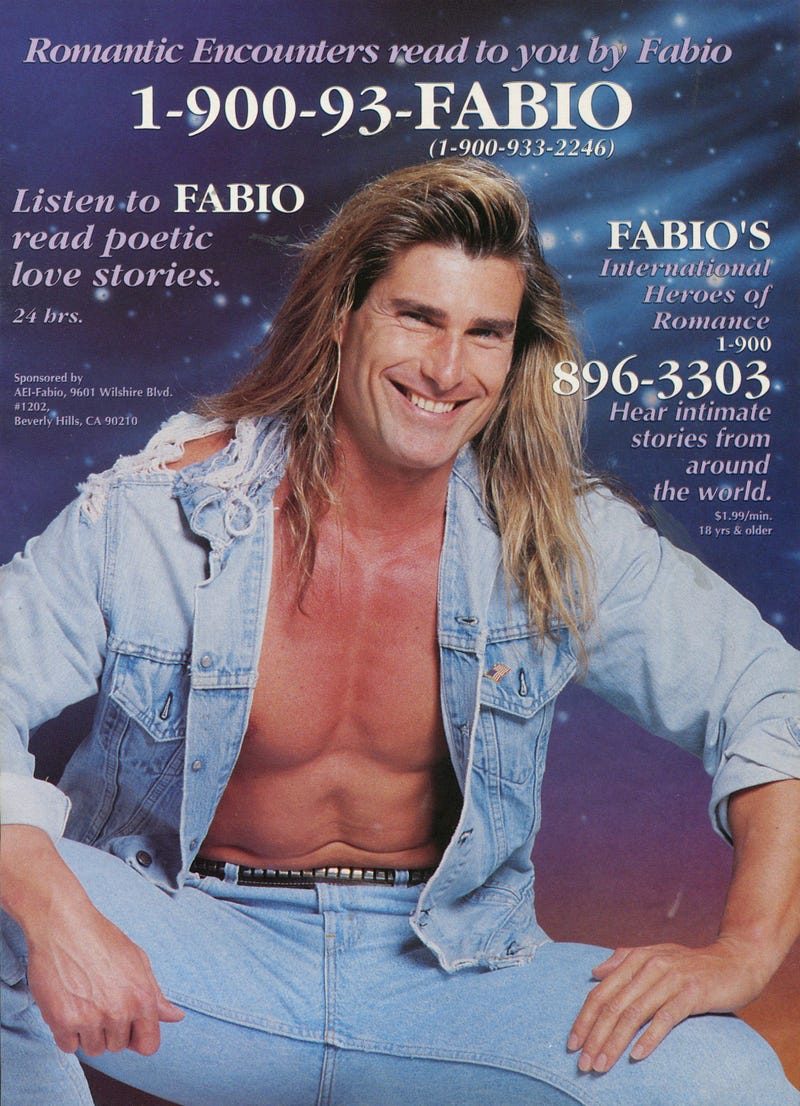 Fabio and the History of Romance Novel Covers