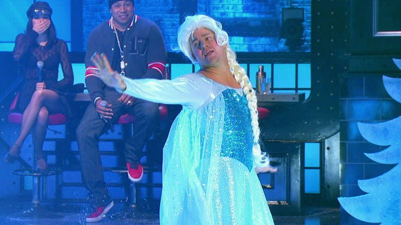 Channing Tatum, throwing down the gauntlet at kid competitors on Lip Sync Battle