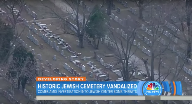 American Muslim Activists Are Raising Money to Pay for Repairs to Desecrated Jewish Cemetery