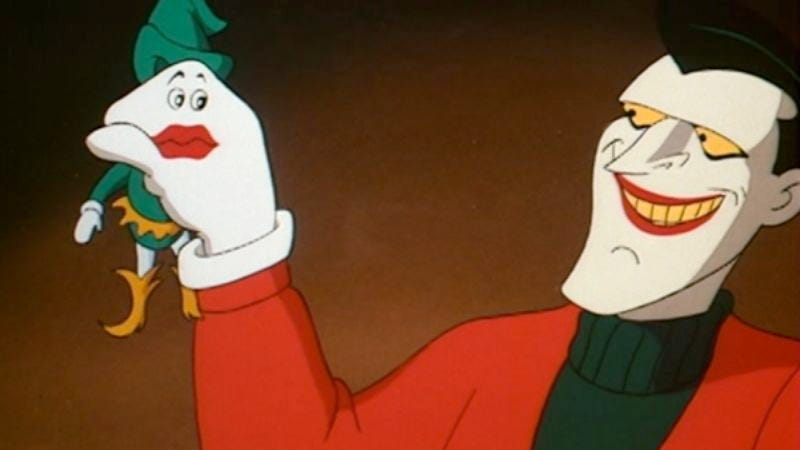 "Illustration for article titled Batman: The Animated Series: ""Christmas With The Joker"""