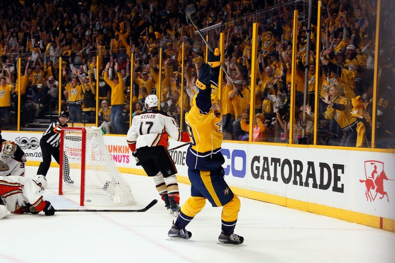 Ducks even Western finals with 3-2 overtime win against Predators