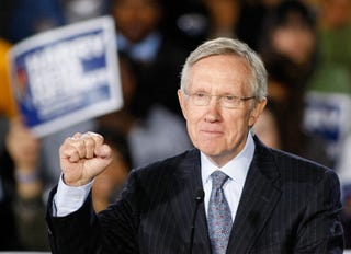 Sen. Harry Reid of Nevada, who held on to his seat Nov. 2. (Ethan Miller/Getty Images)
