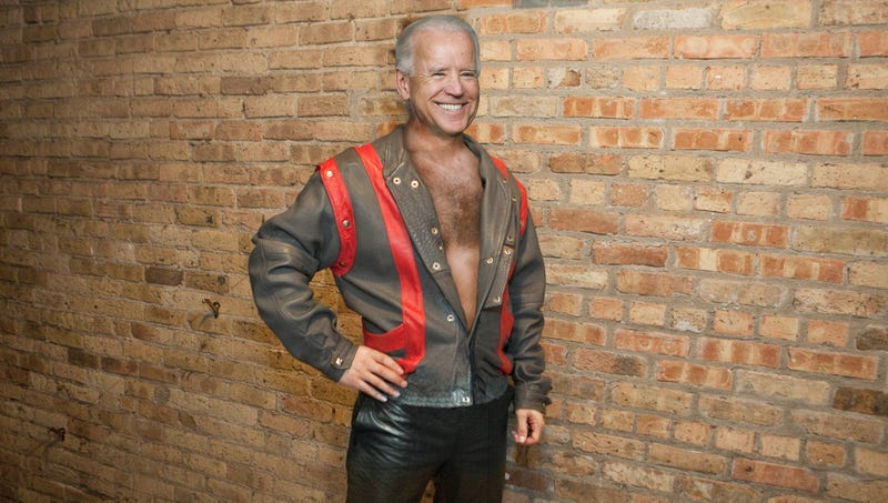 Illustration for article titled Biden Puts On Lucky Debate Suit