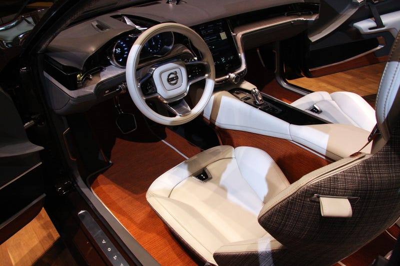 Illustration for article titled The Next Generation Of Volvo Interior Design Is The Sex