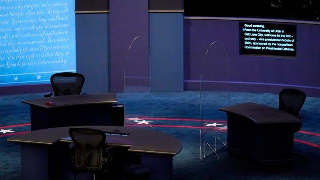 Did the Coronavirus Plan the Vice Presidential Debate?