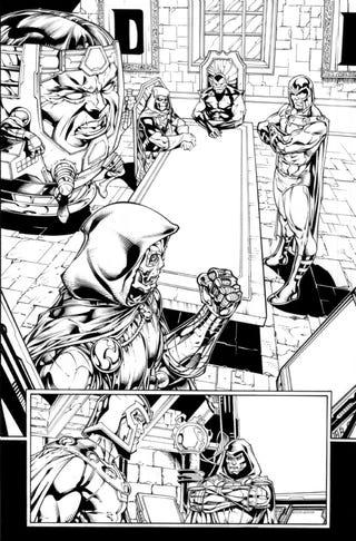Illustration for article titled Two More Super-Villains For Marvel vs Capcom 3?