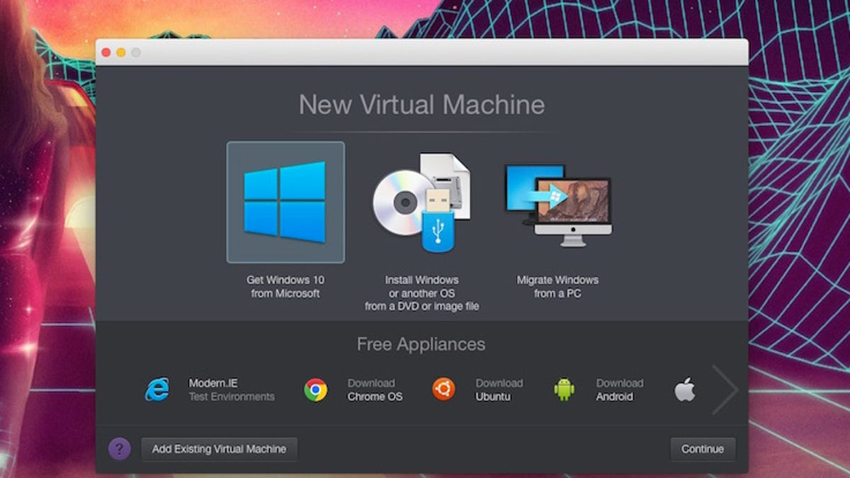 virtual machine free download for windows 10
