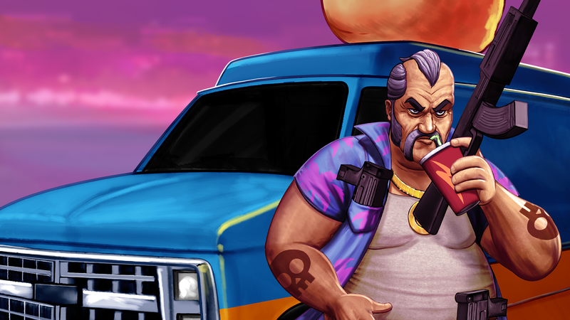 Illustration for article titled Shakedown: Hawaii Offers A Breezy 16-Bit Farewell To The Vita