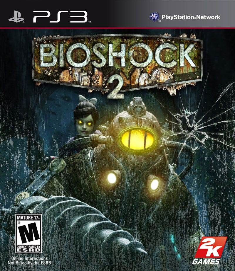 Illustration for article titled BioShock 2 Box Art Emerges From The Depths