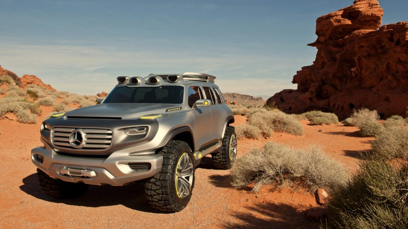 Illustration for article titled The Mercedes Ener-G-Force Is The Awkwardly Named Future Of Off-Roading
