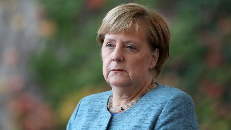 Illustration for article titled Angela Merkel Admits She Only Attending Stupid Work Conference For Free Trip To Argentina