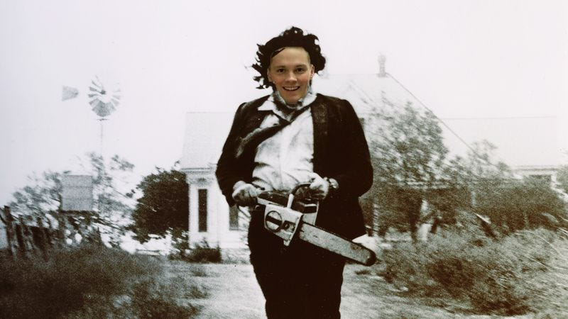Illustration for article titled The new Leatherface has a baby face