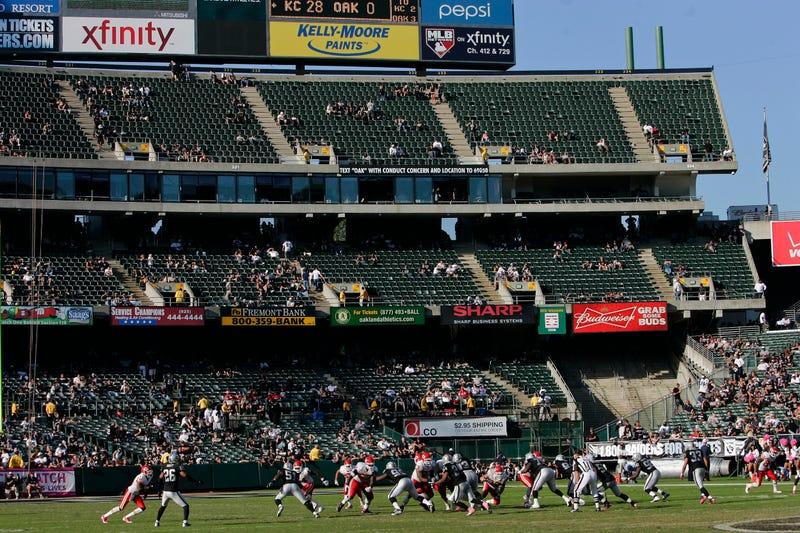 Illustration for article titled Raiders Will Reduce Seating Capacity To The NFL's Smallest In Attempt To Avoid TV Blackouts
