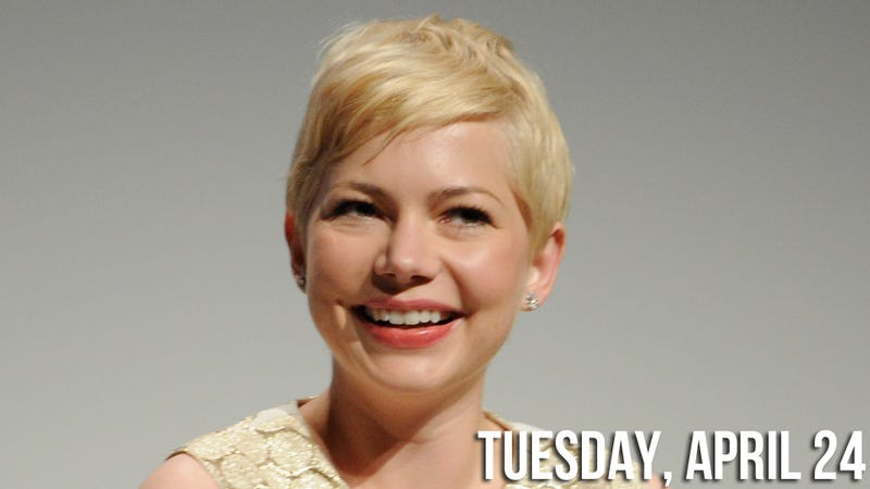 Illustration for article titled Michelle Williams is Down for the Dawson's Creek Reunion