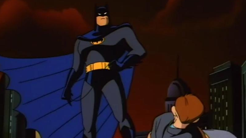 No dating for the batman animated