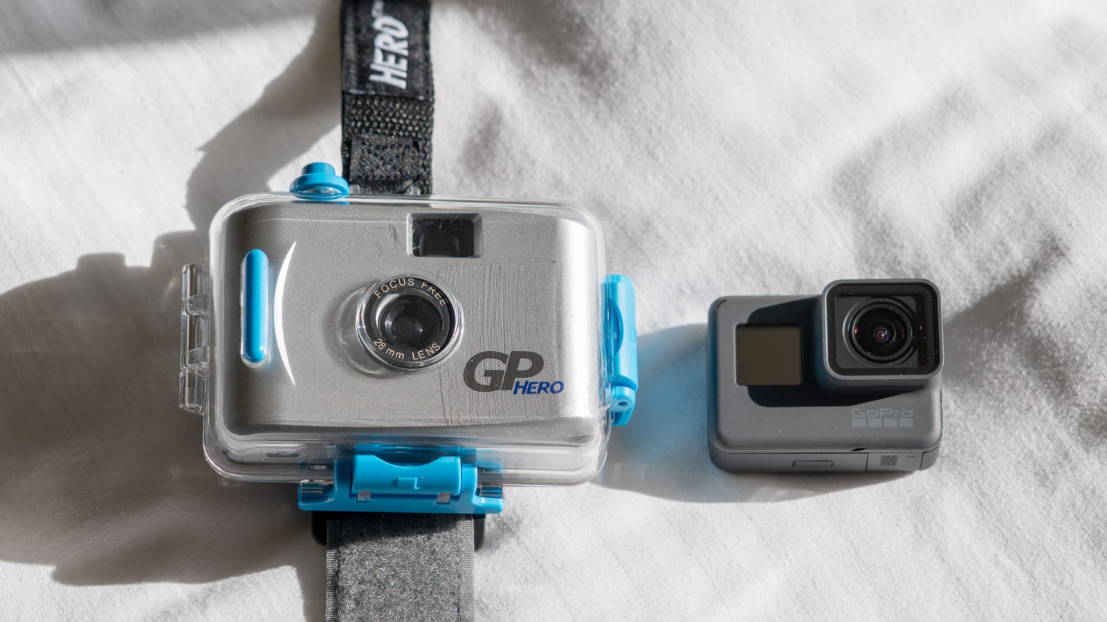 2004 Film Camera Go Pro compared to the Newest GoPro - The Old Photos Didn't Disappoint.