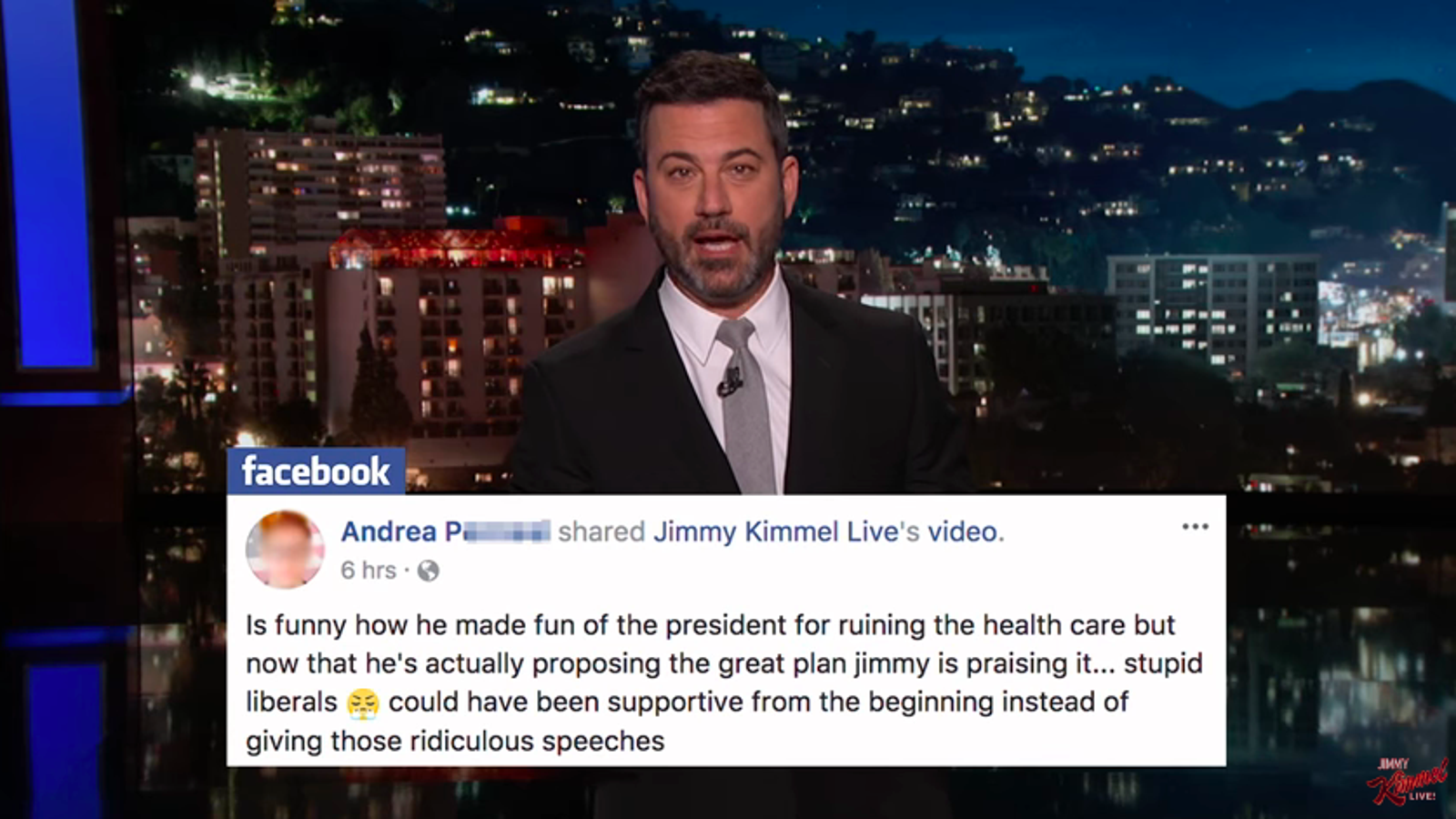 Jimmy Kimmel admits he was wrong, urges everyone to sign up for ...